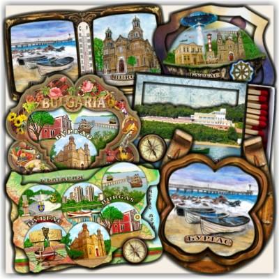 Бургас: Сувенири и Магнити