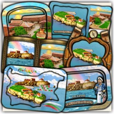 Остров Света Анастасия: Сувенири и Магнити
